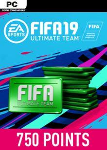 FIFA 19 - 750 FUT Points PC billig Schlüssel zum Download