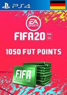 1050 FIFA 20 Ultimate Team Points PS4 (Germany) cheap key to download