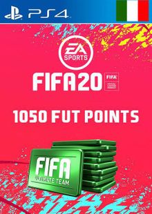 1050 FIFA 20 Ultimate Team Points PS4 (Italy) cheap key to download