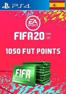 1050 FIFA 20 Ultimate Team Points PS4 (Spain) cheap key to download