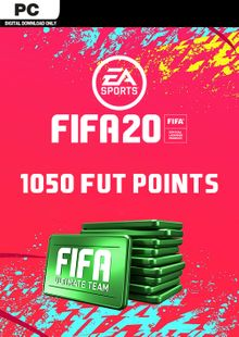 FIFA 20 Ultimate Team - 1050 FIFA Points PC cheap key to download