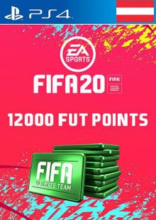 12000 FIFA 20 Ultimate Team Points PS4 (Austria) cheap key to download