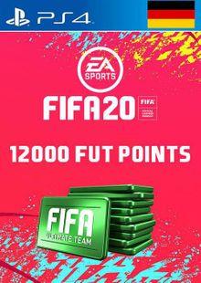 12000 FIFA 20 Ultimate Team Points PS4 (Germany) billig Schlüssel zum Download