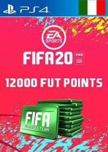 12000 FIFA 20 Ultimate Team Points PS4 (Italy) cheap key to download