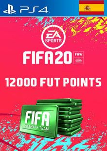12000 FIFA 20 Ultimate Team Points PS4 (Spain) cheap key to download