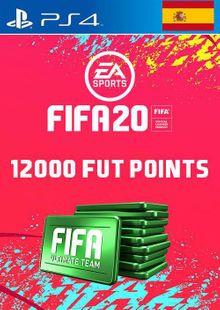 12000 FIFA 20 Ultimate Team Points PS4 (Spain) billig Schlüssel zum Download