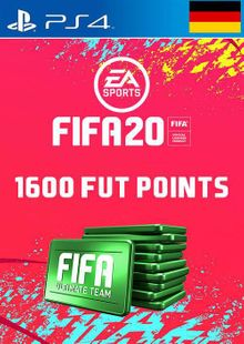 1600 FIFA 20 Ultimate Team Points PS4 (Germany) cheap key to download