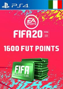 1600 FIFA 20 Ultimate Team Points PS4 (Italy) cheap key to download