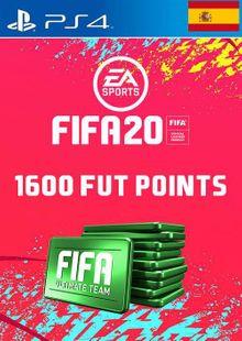 1600 FIFA 20 Ultimate Team Points PS4 (Spain) billig Schlüssel zum Download