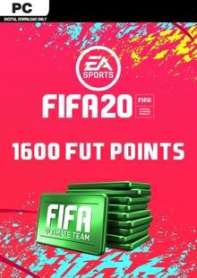 FIFA 20 Ultimate Team - 1600 FIFA Points PC cheap key to download