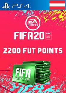 2200 FIFA 20 Ultimate Team Points PS4 (Austria) cheap key to download