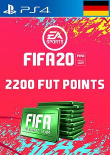 2200 FIFA 20 Ultimate Team Points PS4 (Germany) cheap key to download