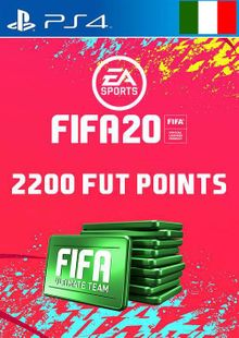 2200 FIFA 20 Ultimate Team Points PS4 (Italy) cheap key to download