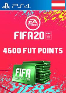 4600 FIFA 20 Ultimate Team Points PS4 (Austria) cheap key to download