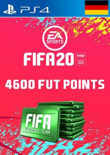 4600 FIFA 20 Ultimate Team Points PS4 (Germany) cheap key to download