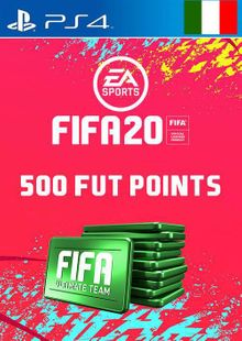 500 FIFA 20 Ultimate Team Points PS4 (Italy) cheap key to download