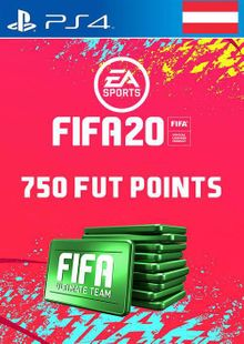 750 FIFA 20 Ultimate Team Points PS4 (Austria) cheap key to download
