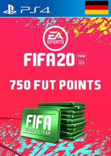 750 FIFA 20 Ultimate Team Points PS4 (Germany) cheap key to download