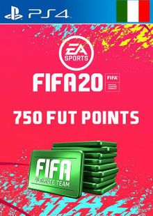 750 FIFA 20 Ultimate Team Points PS4 (Italy) cheap key to download
