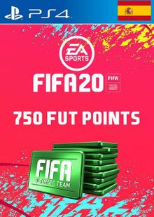 750 FIFA 20 Ultimate Team Points PS4 (Spain) cheap key to download