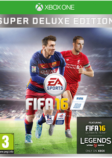 FIFA 16 Super Deluxe Edition Xbox One billig Schlüssel zum Download