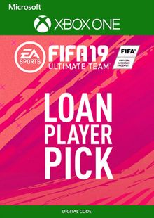 FIFA 19 Ultimate Team Loan Player Pick Xbox One cheap key to download