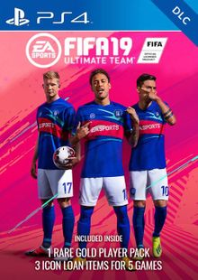 Fifa 19 Ultimate Team Rare Players Pack Bundle DLC PS4 (EU) cheap key to download