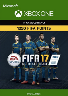 Fifa 17 - 1050 FUT Points (Xbox One) cheap key to download