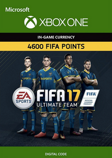 Fifa 17 - 4600 FUT Points (Xbox One) cheap key to download