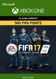 Fifa 17 - 500 FUT Points (Xbox One) cheap key to download