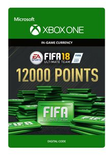 Fifa 18 - 12000 FUT Points (Xbox One) cheap key to download