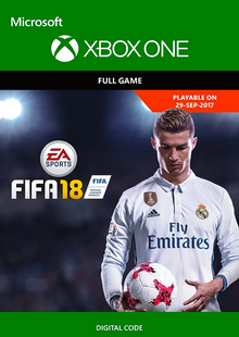 FIFA 18: Standard Edition (Xbox One) billig Schlüssel zum Download