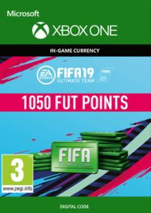 Fifa 19 - 1050 FUT Points (Xbox One) cheap key to download