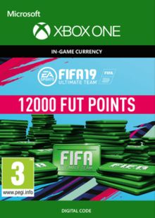 Fifa 19 - 12000 FUT Points (Xbox One) cheap key to download