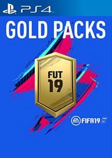 FIFA 19 - Jumbo Premium Gold Packs DLC PS4 clé pas cher à télécharger
