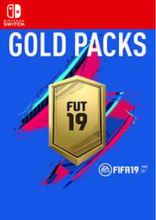 FIFA 19 - Jumbo Premium Gold Packs DLC Switch clé pas cher à télécharger