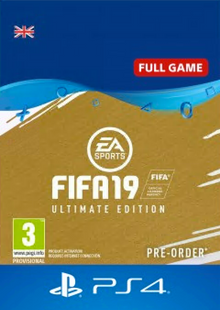 FIFA 19 Ultimate Edition PS4 (UK) cheap key to download