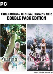 Final Fantasy XIII 13 Double Pack PC cheap key to download