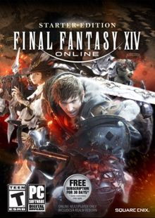 Final Fantasy XIV 14 Online Starter Edition PC cheap key to download