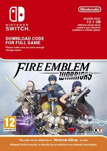 Fire Emblem Warriors Switch (EU) cheap key to download