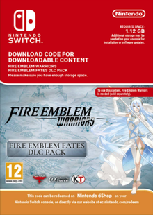 Fire Emblem Warriors: Fire Emblem Fates DLC Pack Switch clé pas cher à télécharger