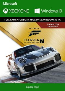 Forza Motorsport 7 Ultimate Edition Xbox One/PC billig Schlüssel zum Download