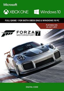 Forza Motorsport 7 Standard Edition Xbox One/PC (UK) billig Schlüssel zum Download
