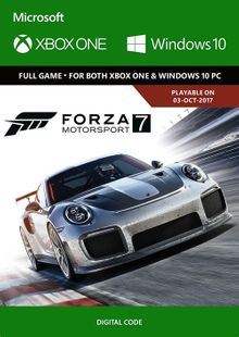 Forza Motorsport 7: Standard Edition Xbox One/PC billig Schlüssel zum Download