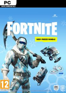Fortnite Deep Freeze Bundle PC clé pas cher à télécharger
