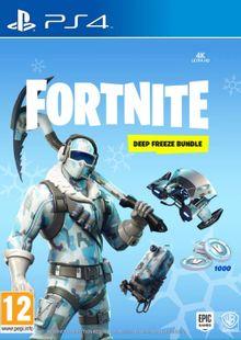 Fortnite Deep Freeze Bundle PS4 billig Schlüssel zum Download