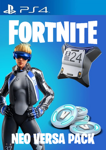 Fortnite Neo Versa + 2000 V-Bucks PS4 (EU) billig Schlüssel zum Download