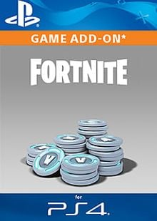 Fortnite - 6,000 (+1,500 Bonus) V-Bucks PS4 cheap key to download