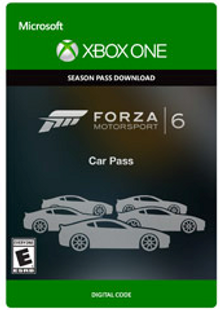 Forza Motorsport 6 Car Pass Xbox One - Digital Code cheap key to download