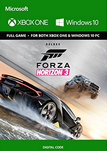 Forza Horizon 3 Deluxe Edition Xbox One/PC - Digital Code cheap key to download
